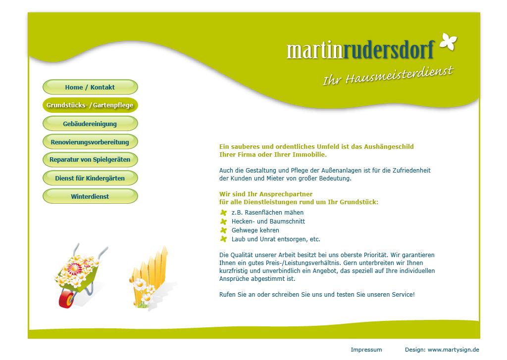 Martin Rudersdorf Ihr Hausmeisterdienst